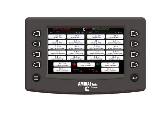 Système de contrôle Amiral & Amiral Twin