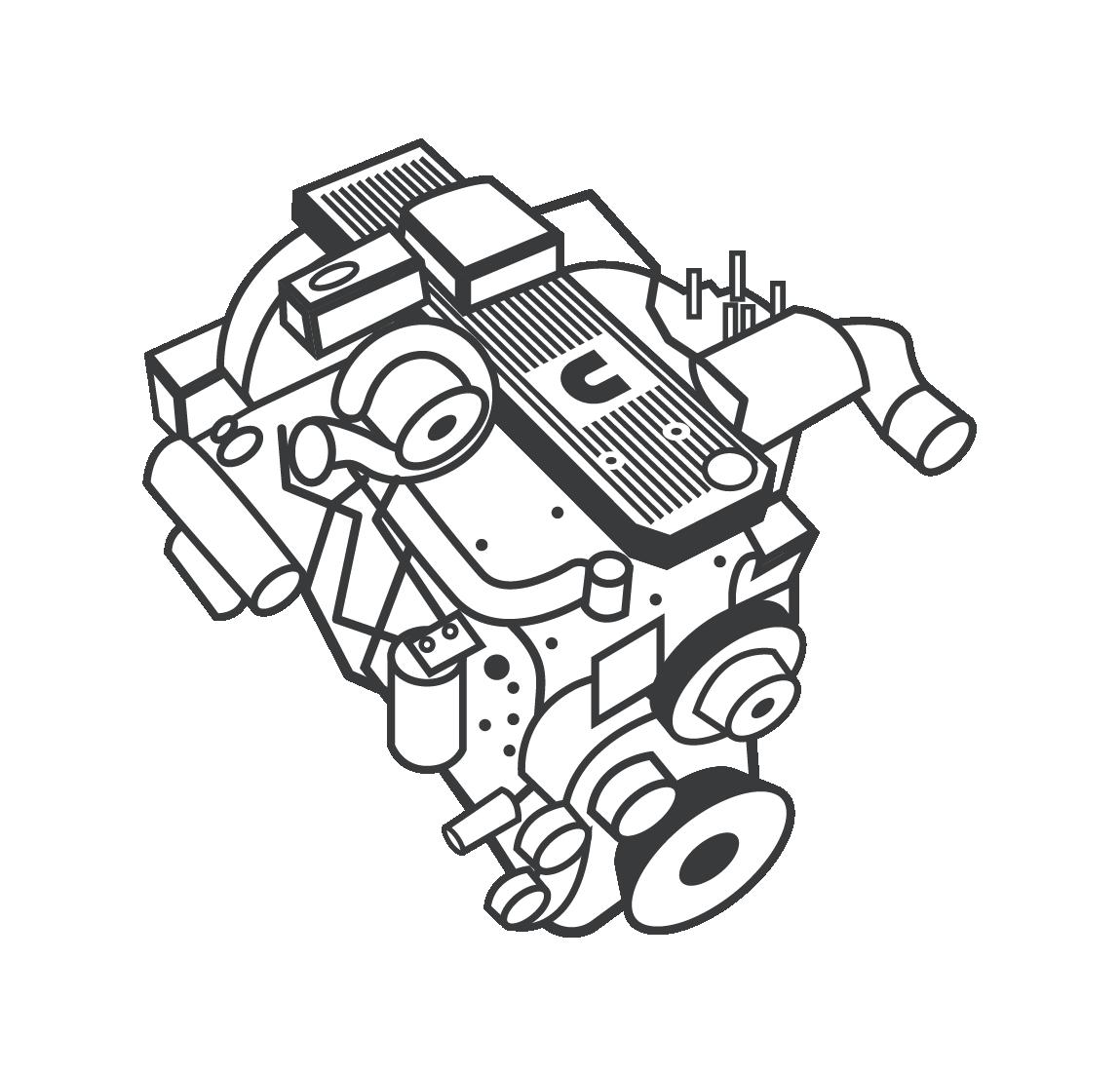 Illustration moteur Cummins terrestre